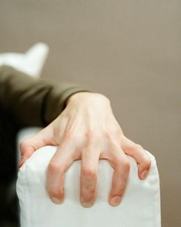 Hand Grabbing Something
